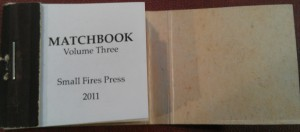 Matchbook Vol 3 Title Page